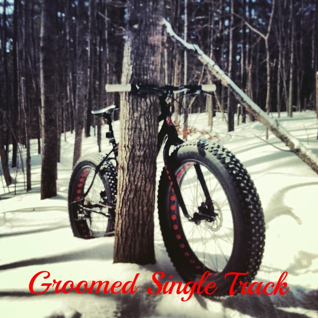 Groomed Single Track