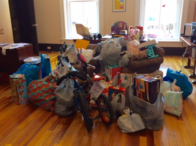 A portion of gift received for our Rome FACES and Foster Care clients.