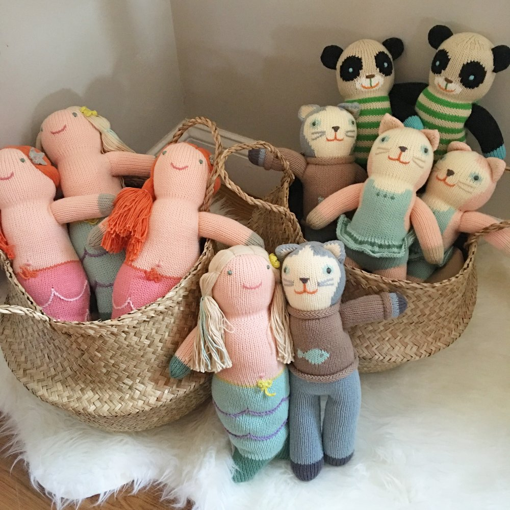 *NEW PRODUCT ALERT* We now carry Blabla Kids stuffed dolls, rattles and finger puppets :)