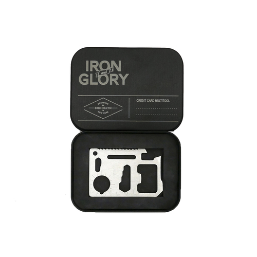 *NEW PRODUCT ALERT* Part of our new section for men are items from Iron and Glory, including this credit card sized multi tool!