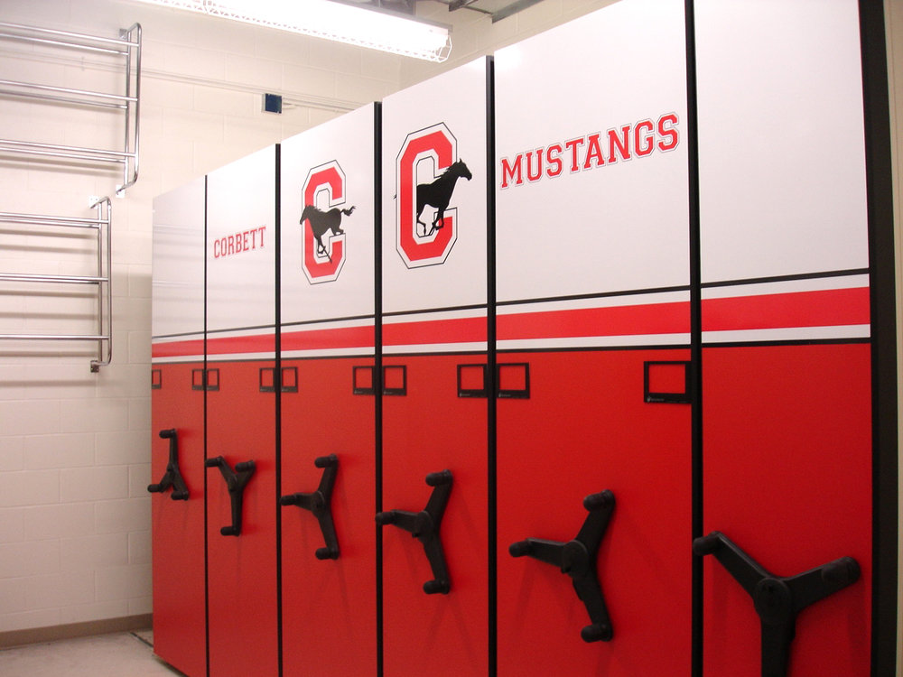 Middle School Gym Storage