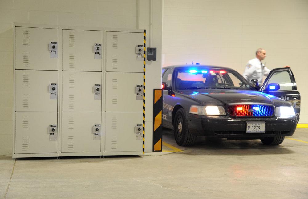 Police Car Port