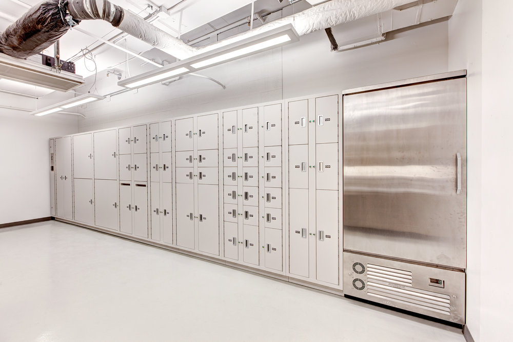 Secure Inventory QA Lockers