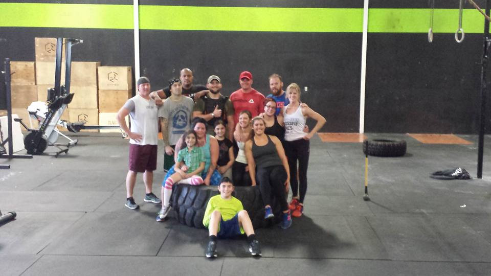 Sunday Team WOD's have been a blast these past few weeks!