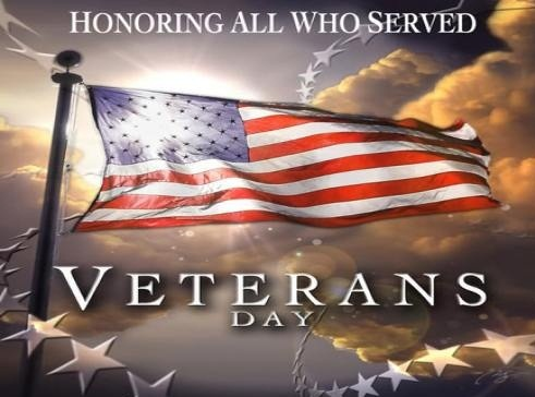 Today is about honoring the sacrifice and courage of Service men past and present. We have quite a few at CFE, make sure to show them you appreciate their sacrifice.