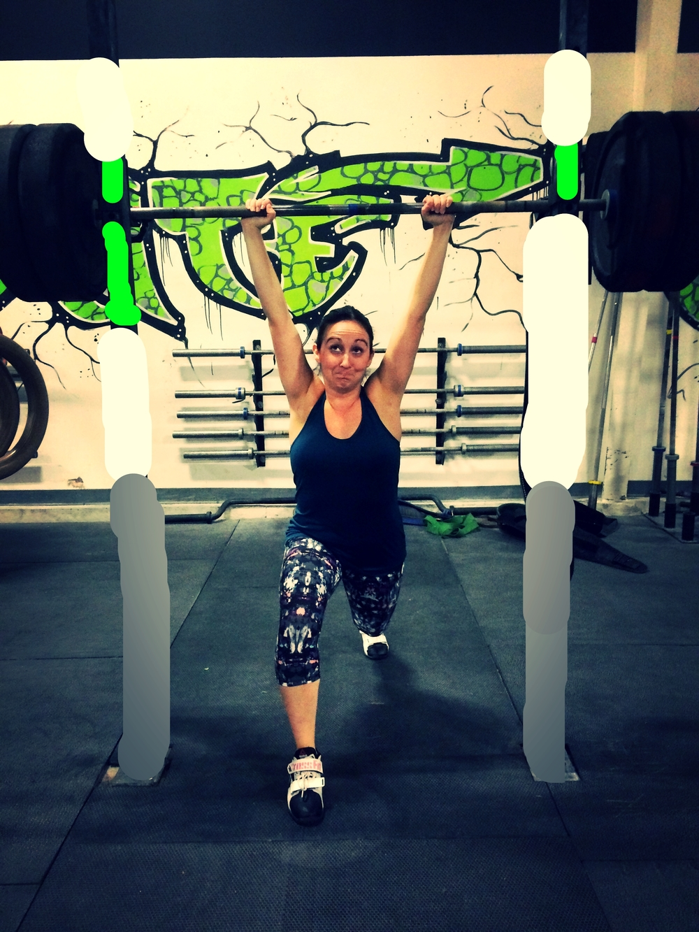 If anyone is looking for pointers on an effortless Clean and Jerk, just ask Steph!