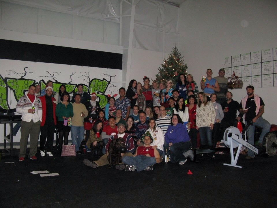 Throwback Thursday to our first CFE Christmas Party!