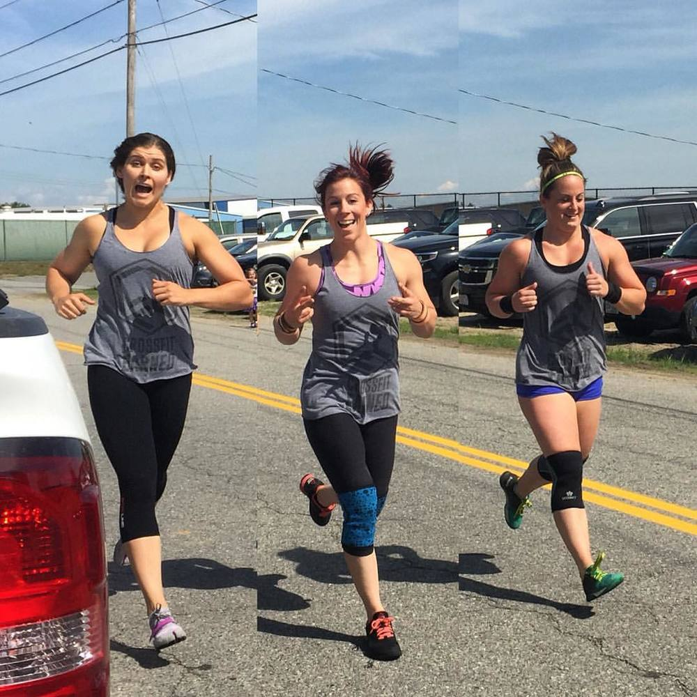 Get in step! Jen, Shy and Kelly kicked some serious butt this weekend. Great job girls!