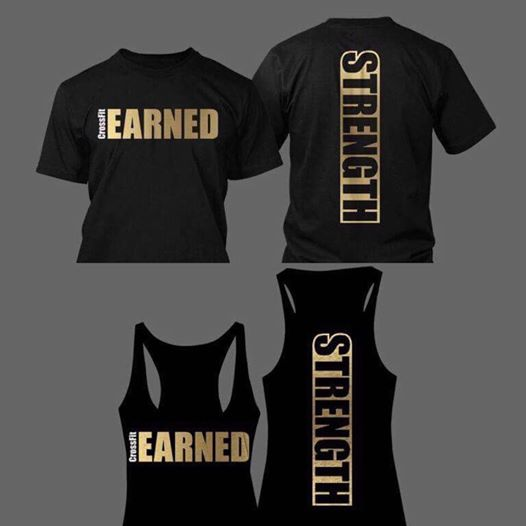 Link to order: http://foreverfierce.com/products/crossfit-earned-october-strength