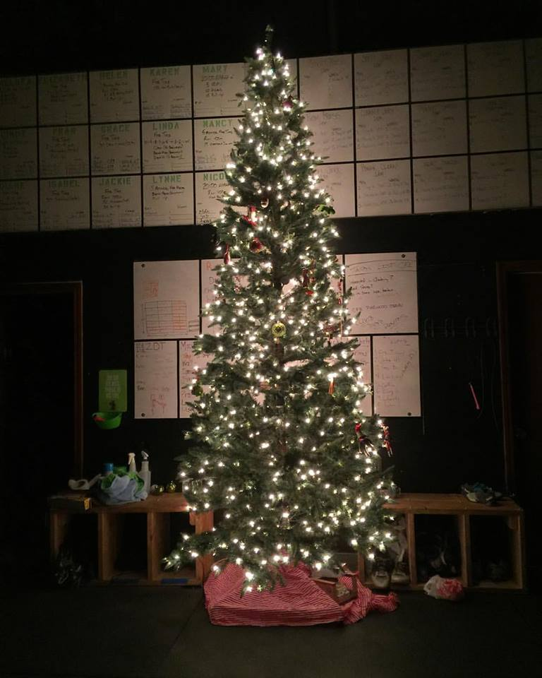 Bring in your ornaments and unwrapped gifts for the kids!