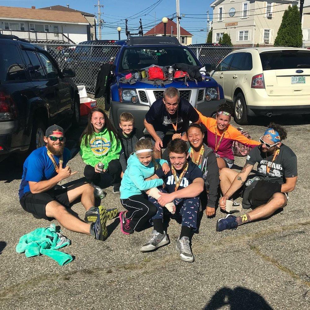 Smyttynowe Rockfest Half Marathon! Great work crazies!!