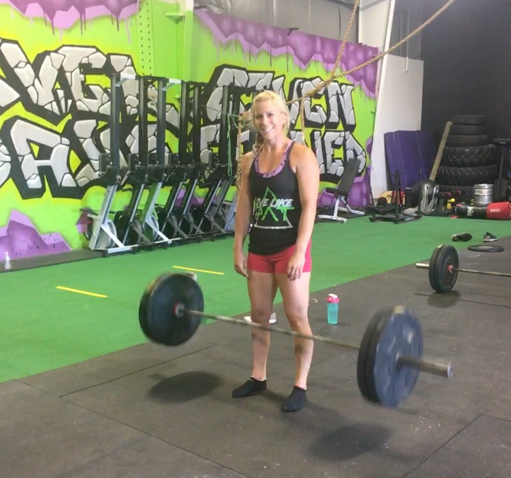 When a levitating barbell is the least impressive thing in the photo...
