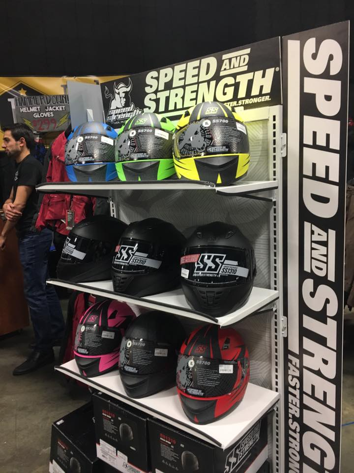 Speed and Strength Helmets SS700 SS1310 SS1600