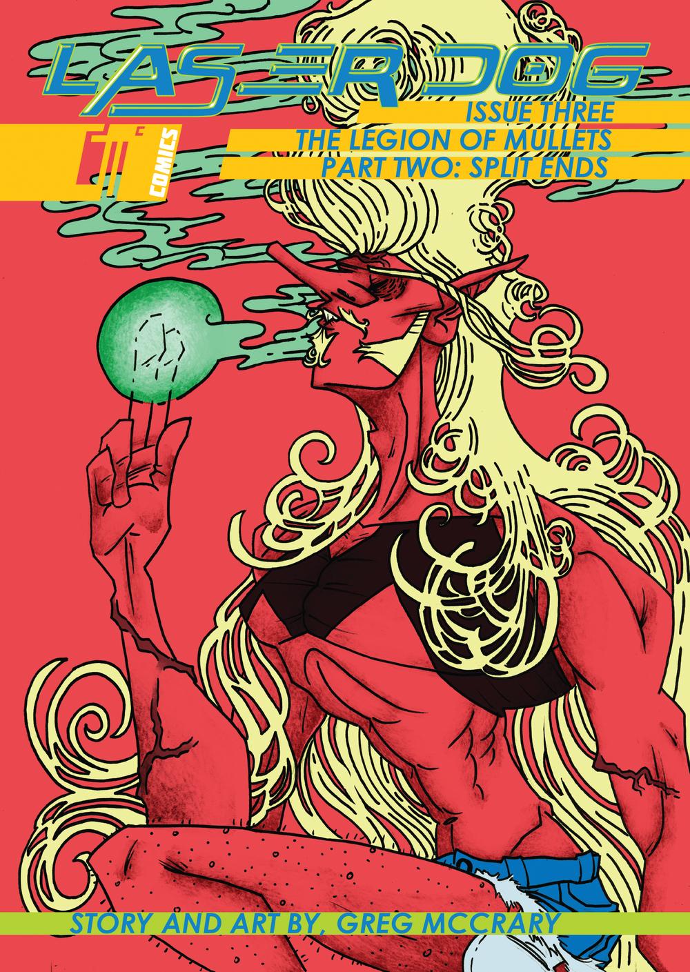 LASER DOG #3 COVER
