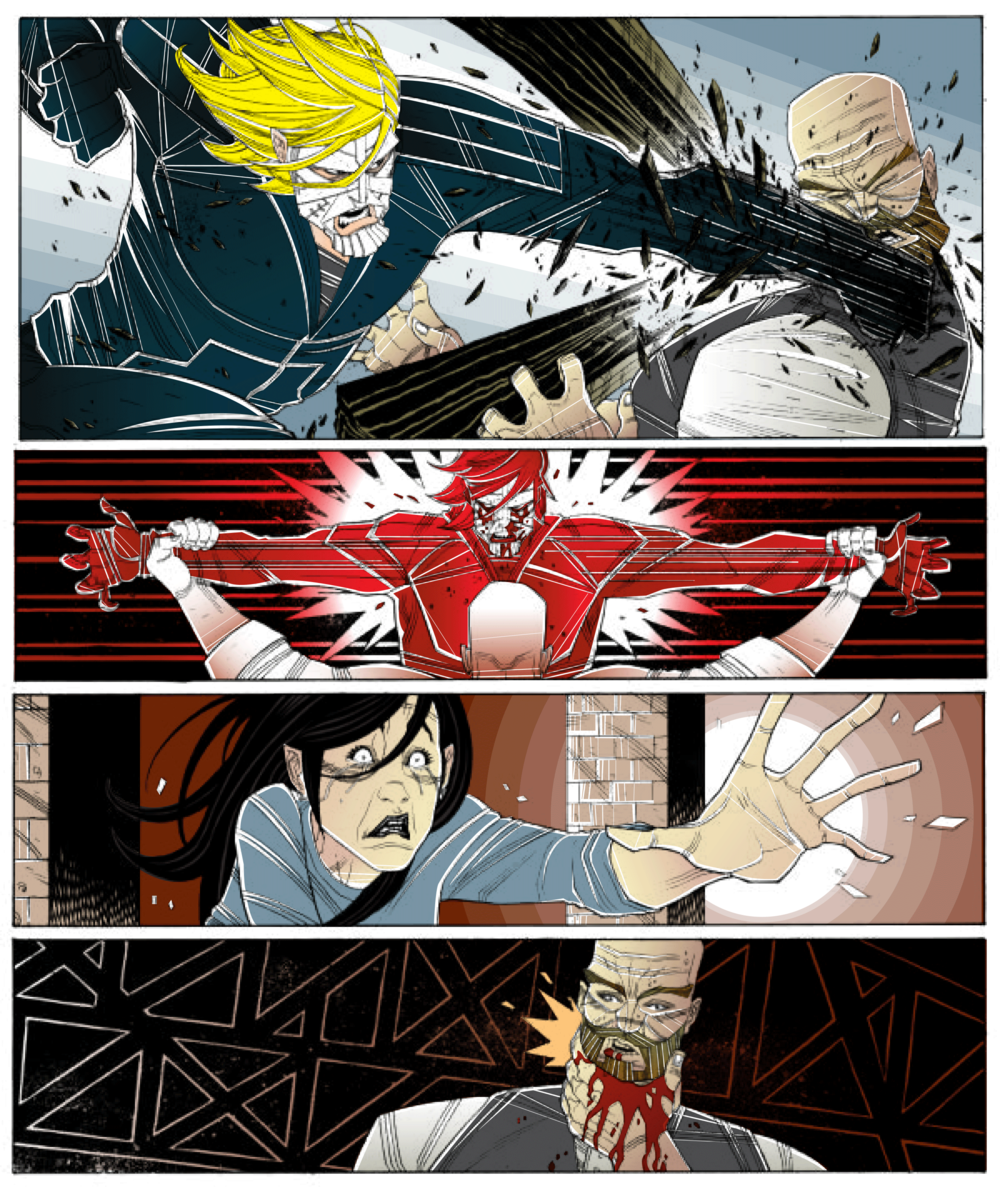 LUTHER STRODE ART WORK: TRADD MOORE