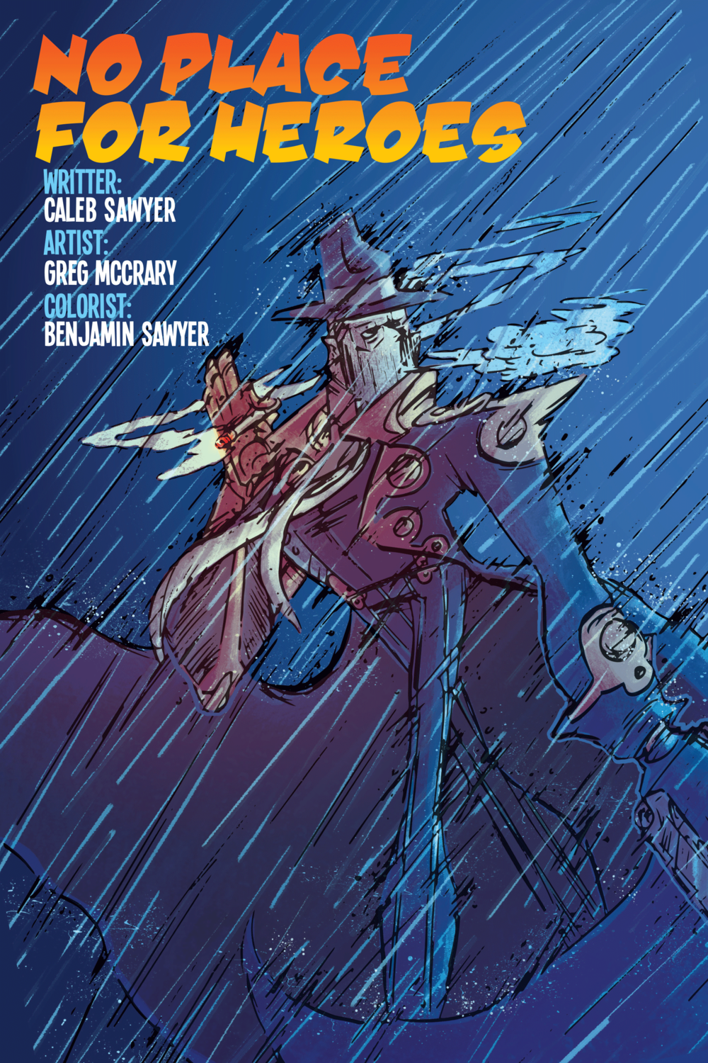 NO PLACE FOR HEROES: COVER PAGE