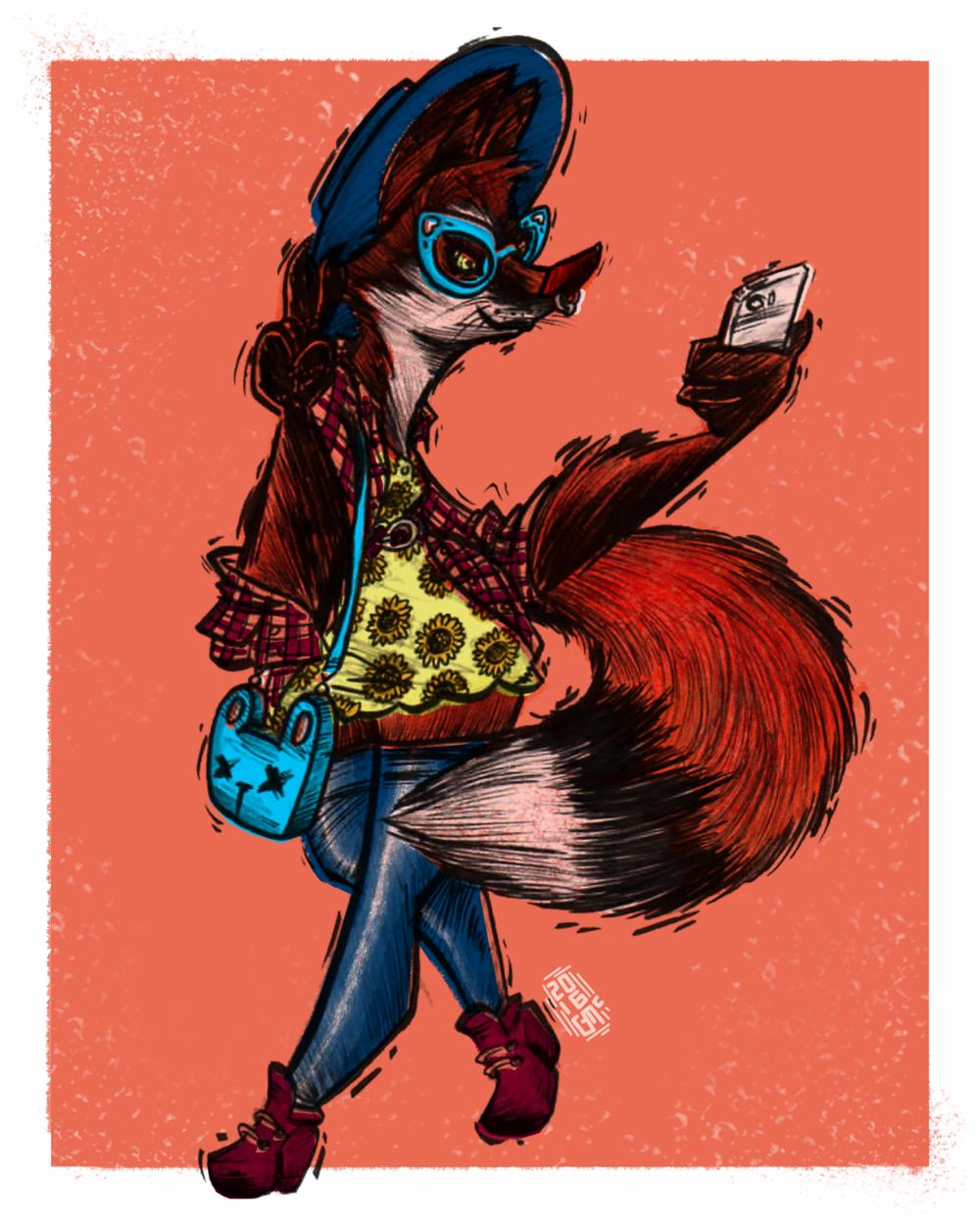 HIPSTER PETS: FIONNA FOX