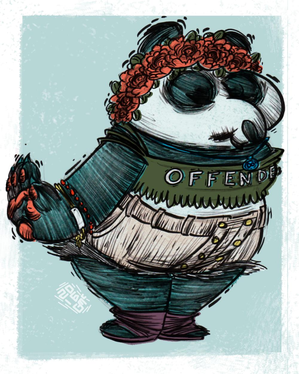 HIPSTER PETS: POLLY PANDA