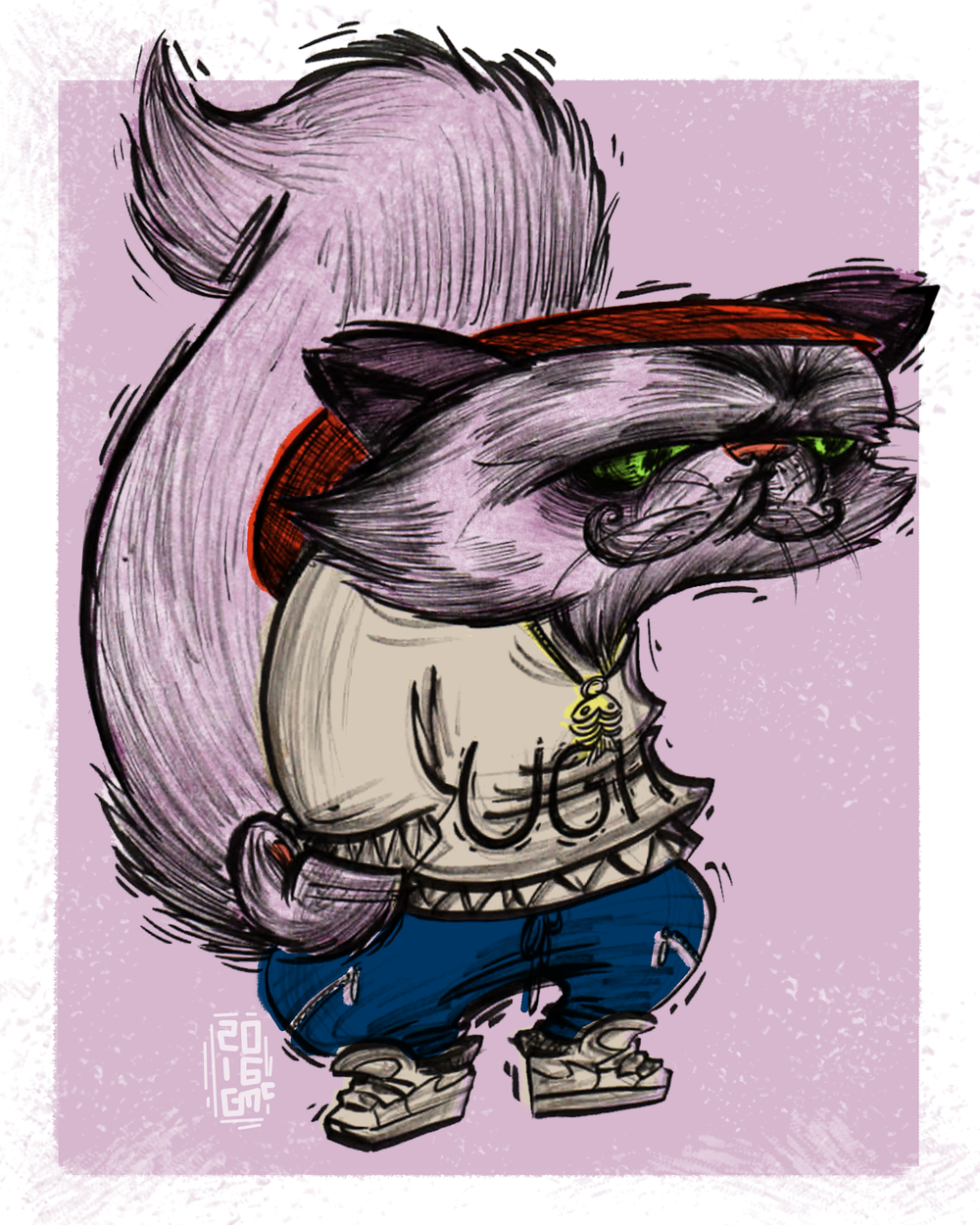 HIPSTER PETS: CORMAC CAT