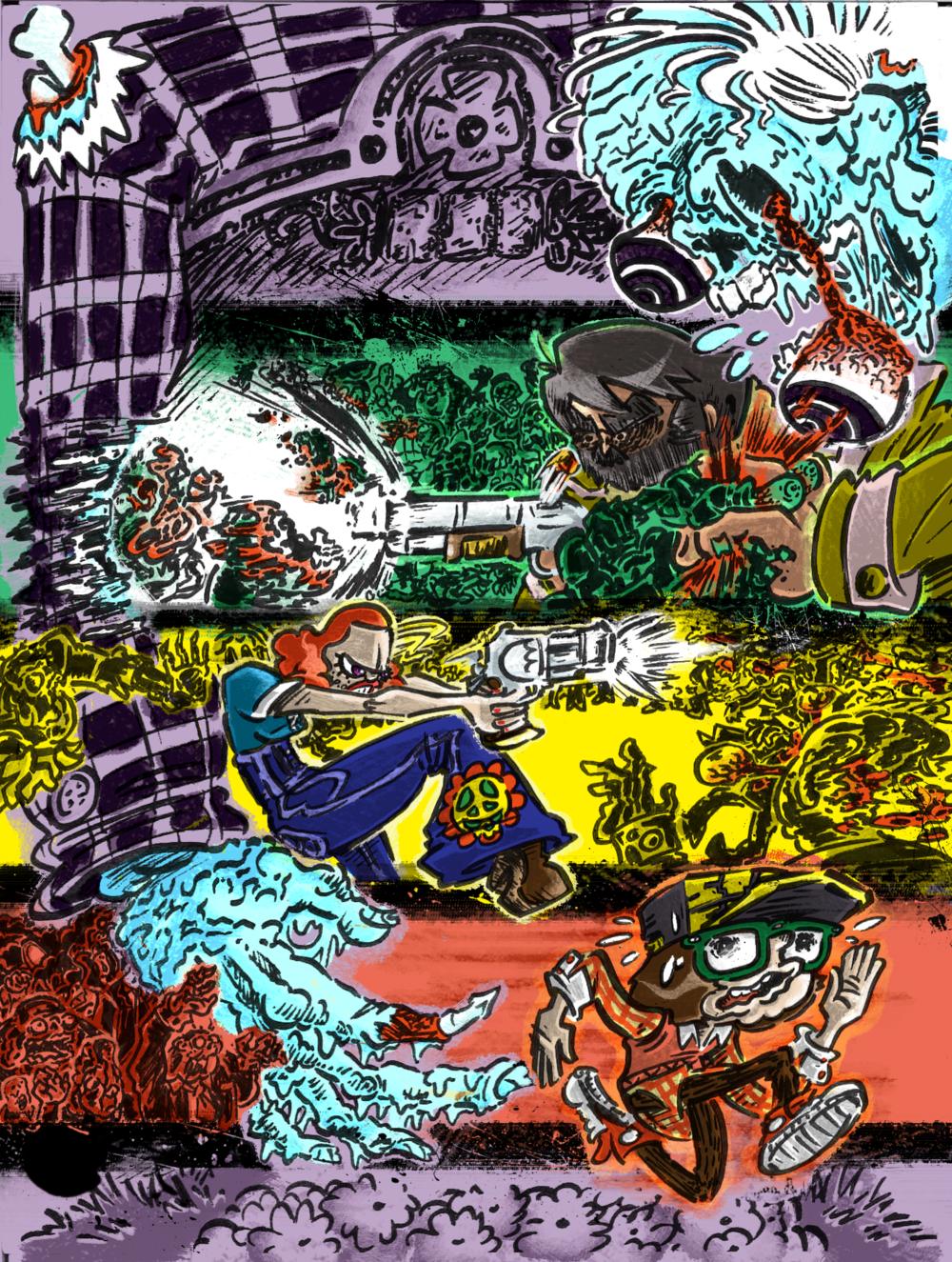 COMIC COVER #1