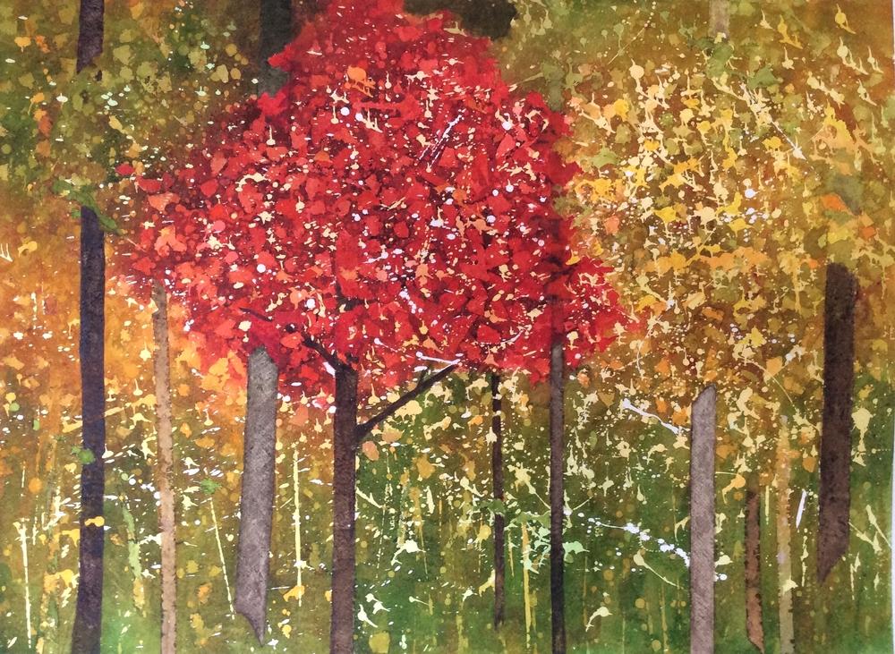 """Title TBD. Watercolour, 30 x 22"""""""