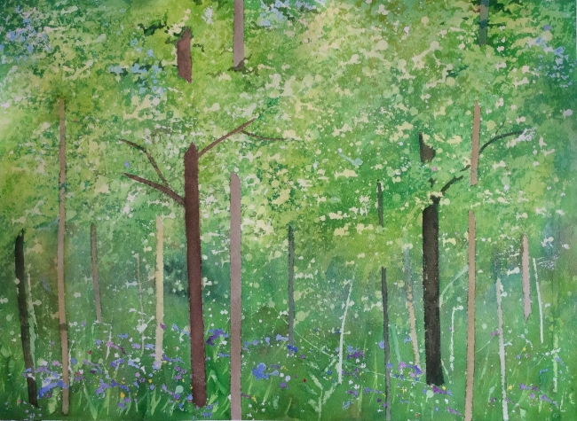 """Title TBD. Watercolour, 21 x 29"""""""