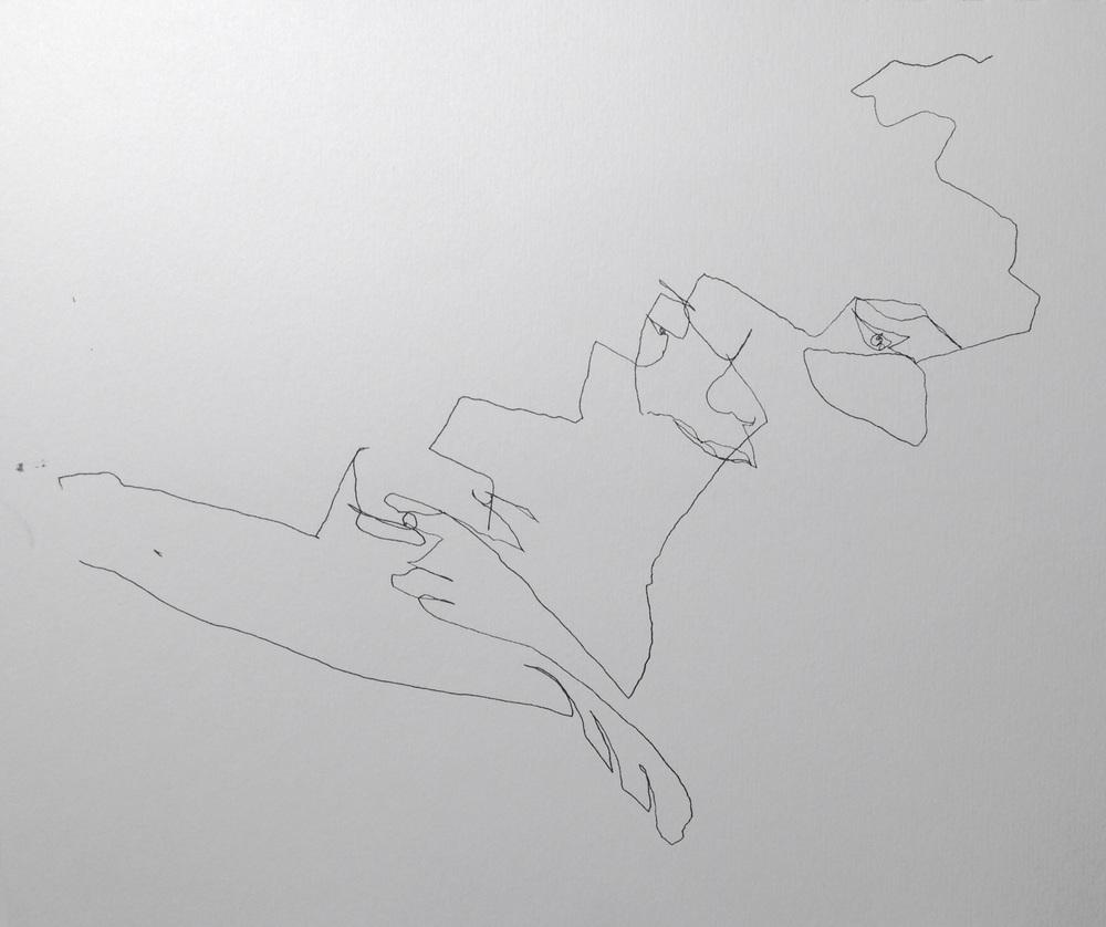 Art journal, ink