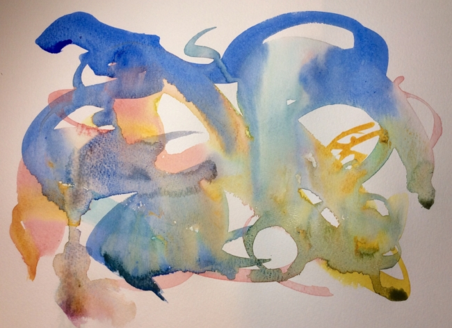 """The Audacity of Hope"". Art journal, watercolour"
