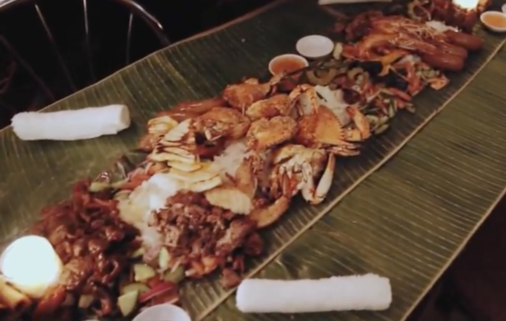 Bizarre Bites: Kamayan Night at Jeepney Wanna know what Kamayan night is? Zagat did too, and here's what they thought.