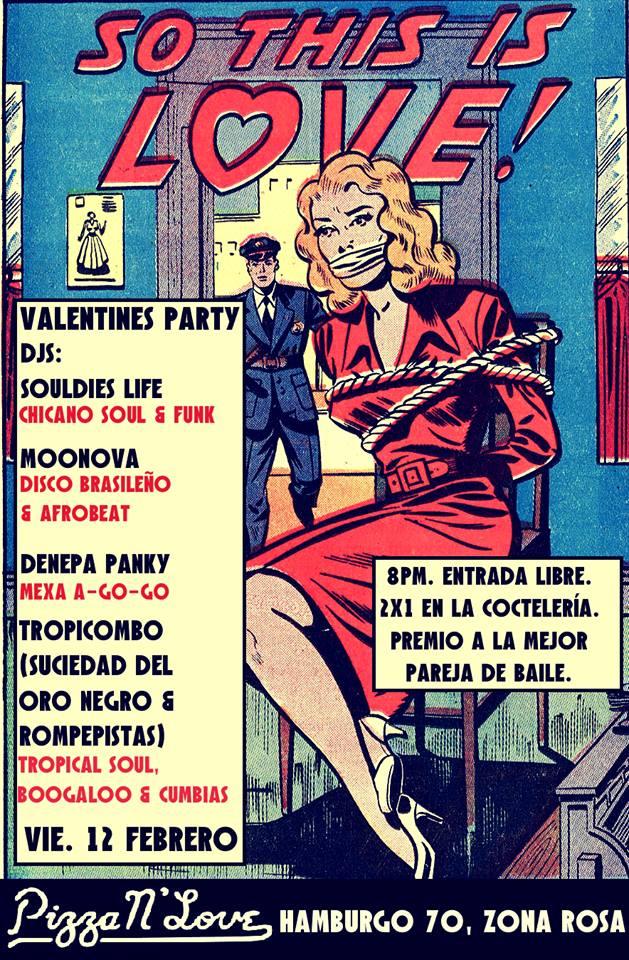 Ven al bailongo de San Valentin este 12 de febrero. ¡Habrá 2x1 en coctelería y premio para la mejor pareja de baile!