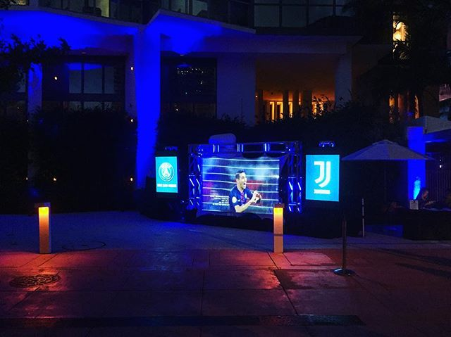 Have a few activations going on in Miami for the #internationalchampionscup @intchampionscup @psg @juventus #soccercity