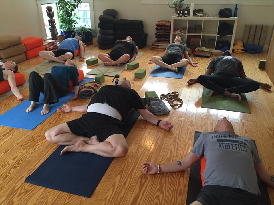 Enjoy daily Gentle and/or Restorative Yoga classes with Jill, along with Yoga Nidra guided relaxation.