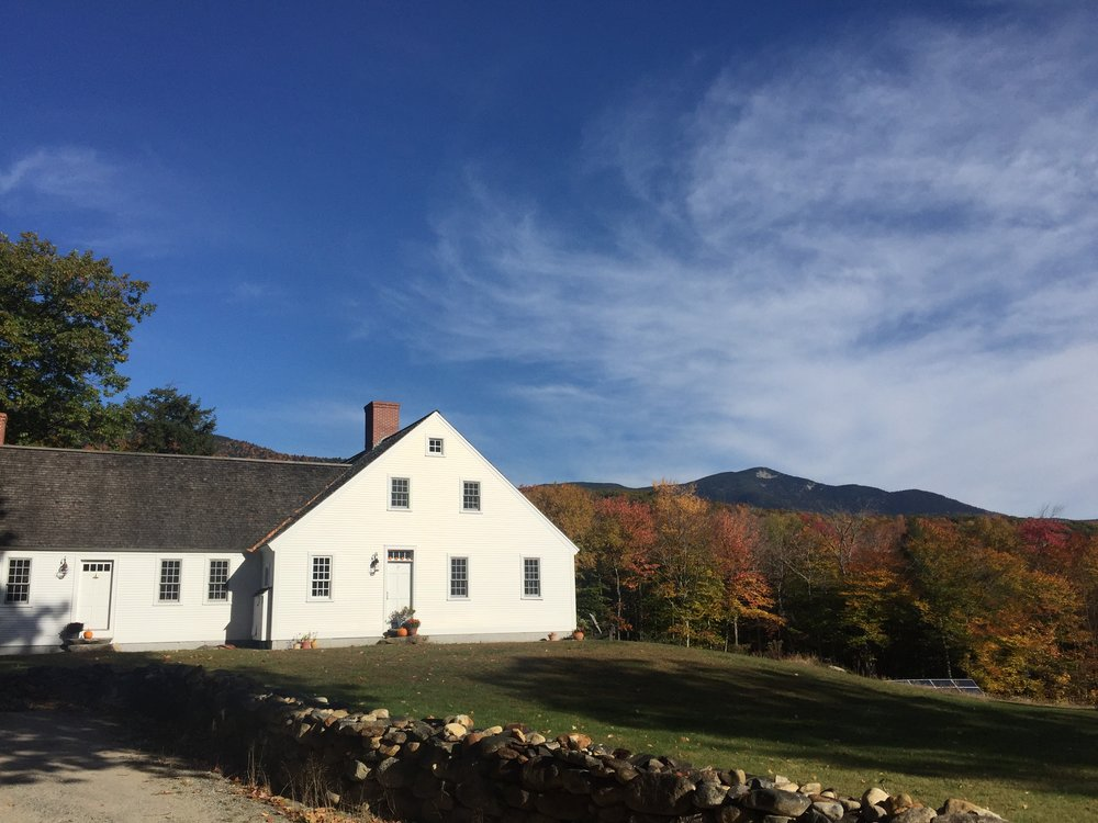 Dragonfly Yoga Barn is nestled at the foot of the White Mountains, just 2.5 hours from Boston, but you'll feel like you're a million miles away.
