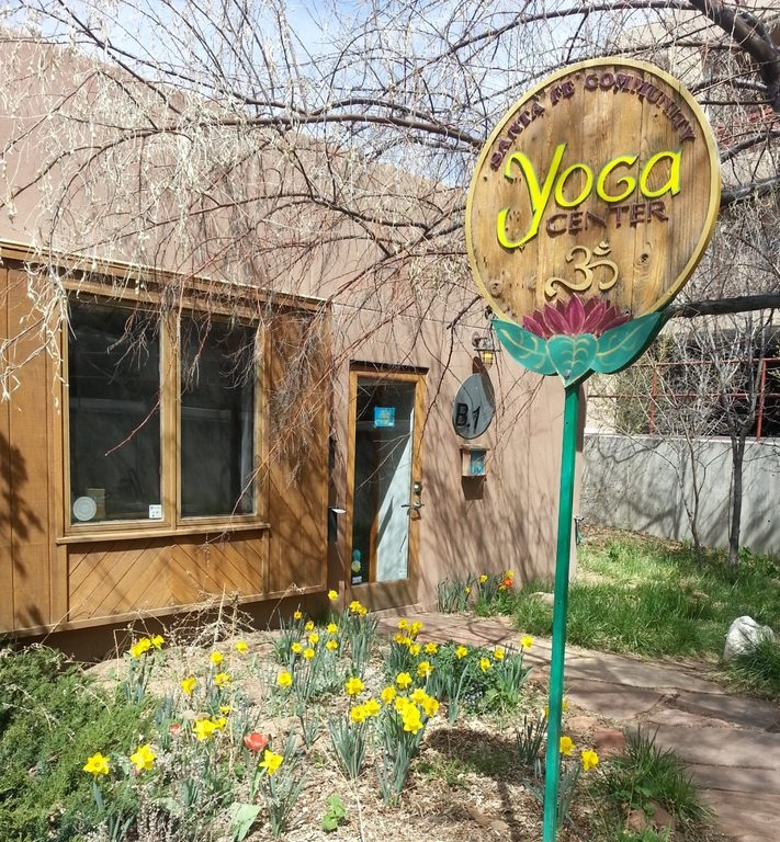Santa Fe Community Yoga is your Yoga home away from home. It is fully stocked with everything you need, including mats, blankets, bolsters, blocks and straps, meaning you don't have to pack any of that stuff!