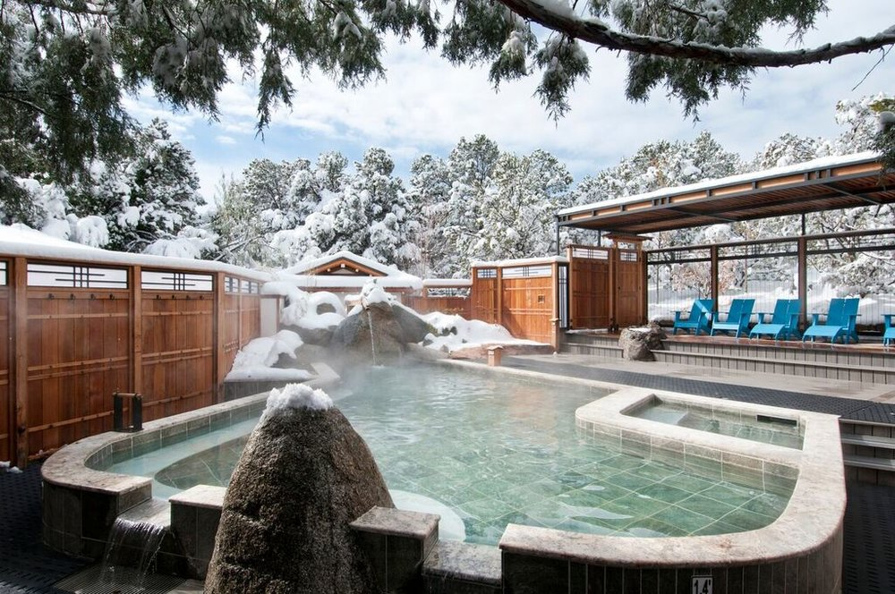 Ten Thousand Waves is an award winning Japanese style Spa. Let your troubles float away as you spend the day soaking in the outdoor hot-tub or strolling around the beautiful grounds.Treat yourself to a massage or other body treatment (additional charge.)