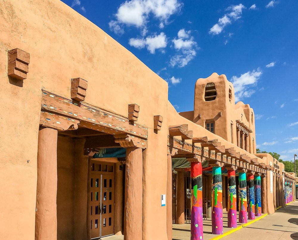 Both lodging options are right in the heart of Santa Fe, close to shops, galleries, museums and restaurants, which means you can easily get around without a car. Transportation to and from the Airport and all group events, including Yoga, meals and Ten Thousand Waves Japanese Spa are included.