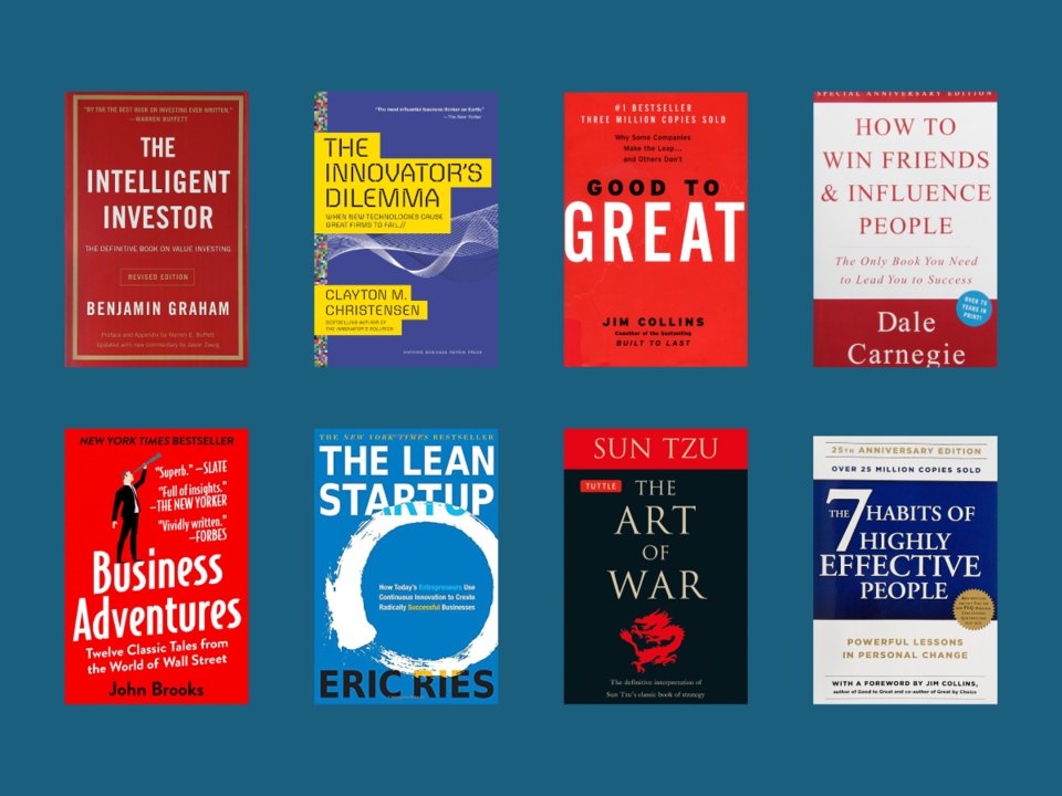 Source:  Business Insider,  The 25 most influential books ever written about business , 2018