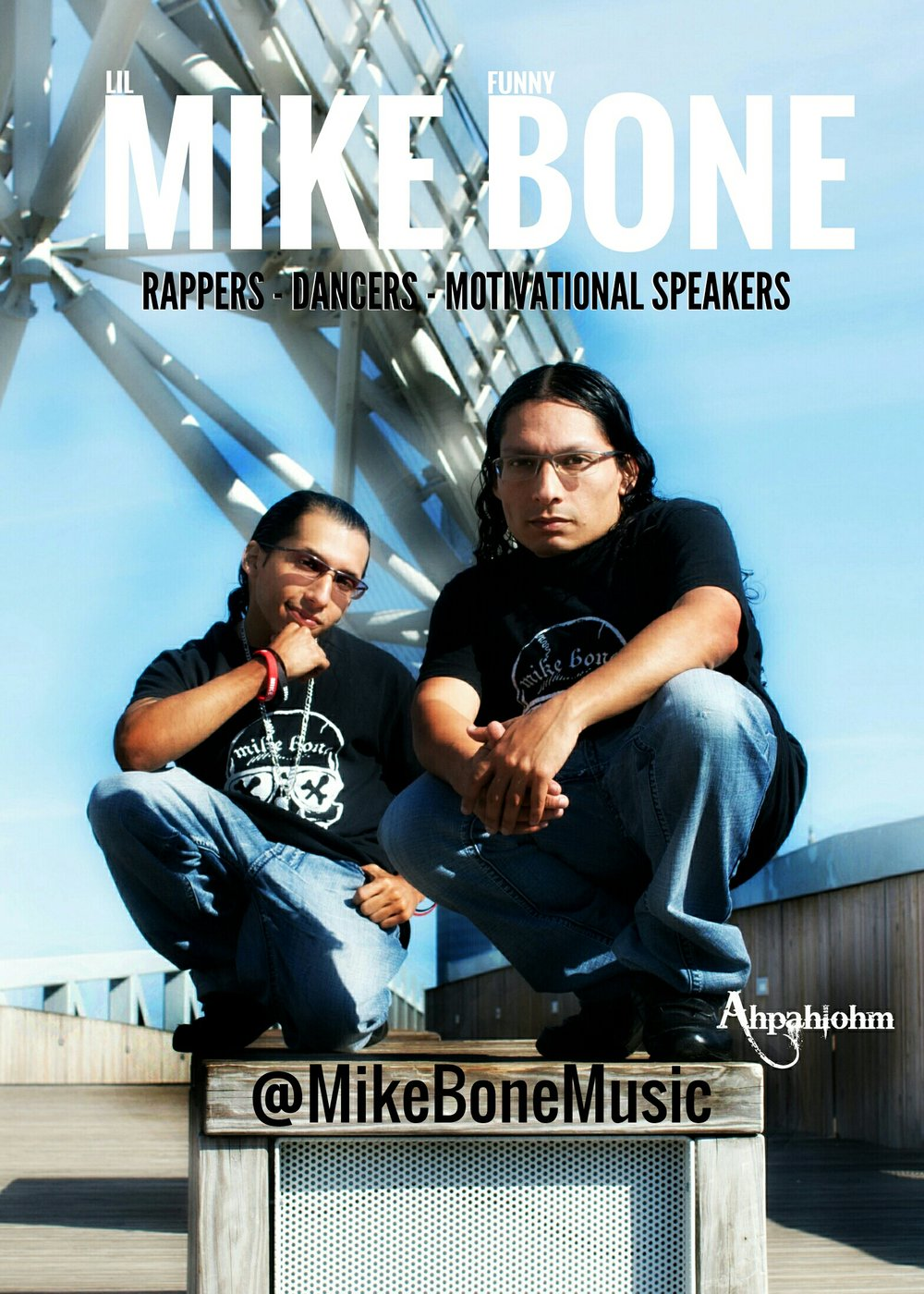 please see www.mikebonemusic.com
