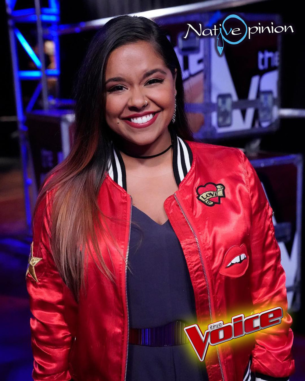 "BROOKE SIMPSON, COMPETING ON SEASON 13 OF NBC'S ""THE VOICE"""