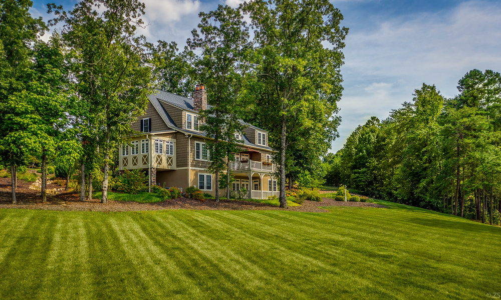 Tot Hill Farm - Tot Hill Farm provides upscale living just eight miles southwest of Asheboro. Many who build in this area have homes along Tot Hill Farm golf course and enjoy the rolling hills of the Uwharrie National Forest. This subdivision is located within Randolph County.