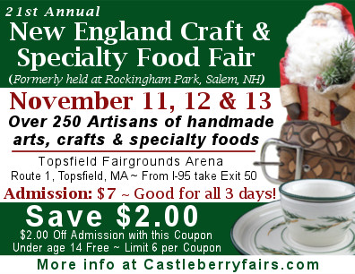 New England Craft & Specialty Food Fair
