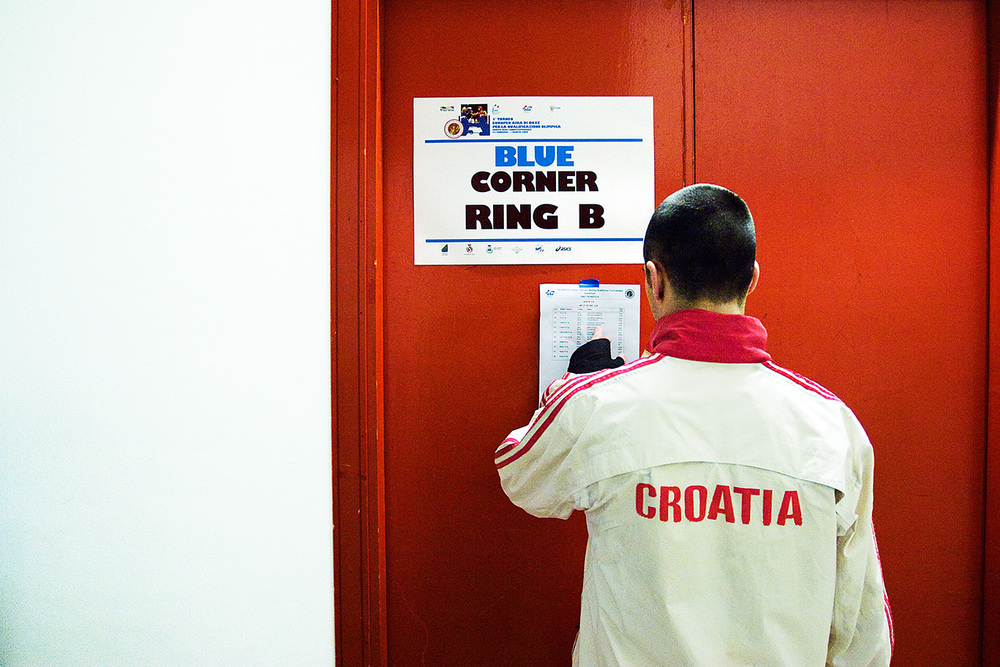 CROATIA - Olympic Boxing Qualifying Tournament (Roseto degli Abruzzi, 2008)