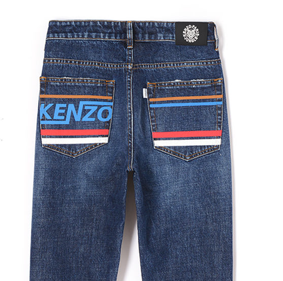 Kenzo jeans with design