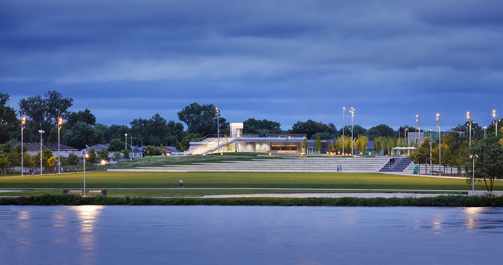 River's Edge Pavilion | Council Bluffs , IA   View Gallery »