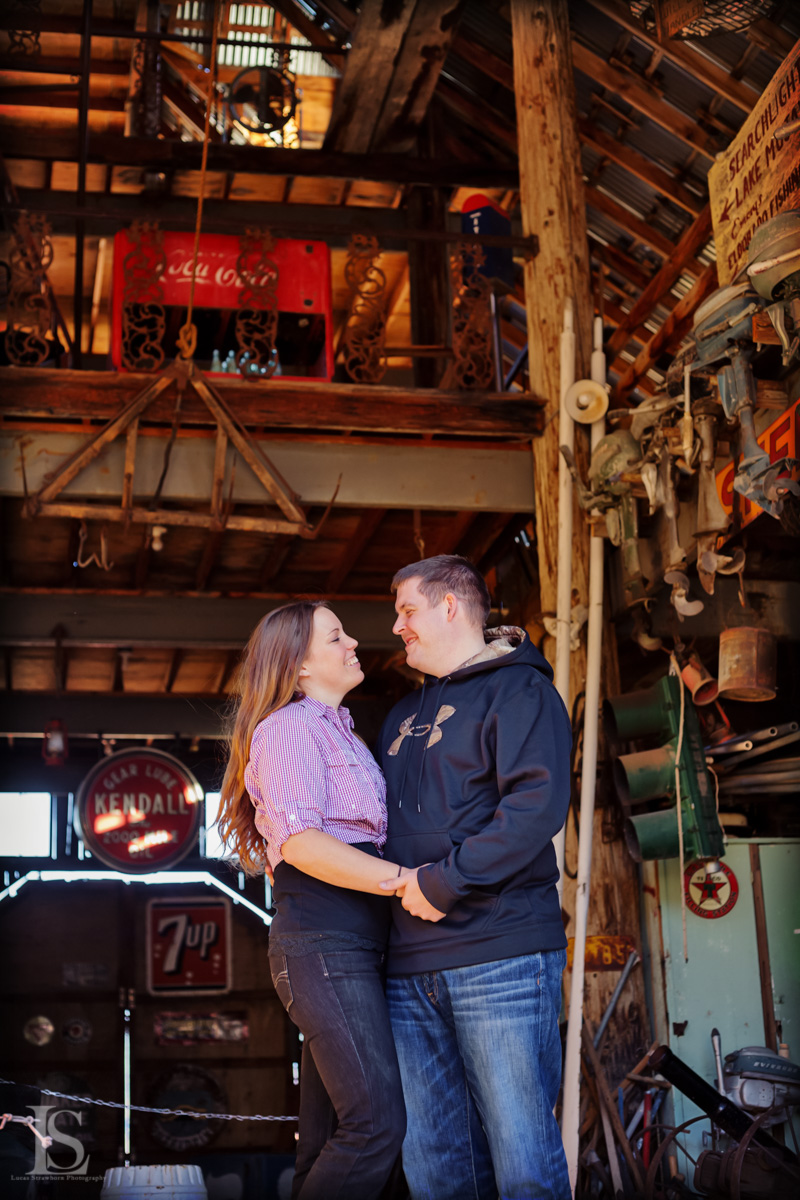 Amanda & Miles Engagement photography in Nelson NV.