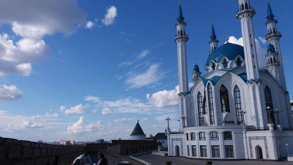 The Qol Sharif Mosque inside the walls of the Kremlin