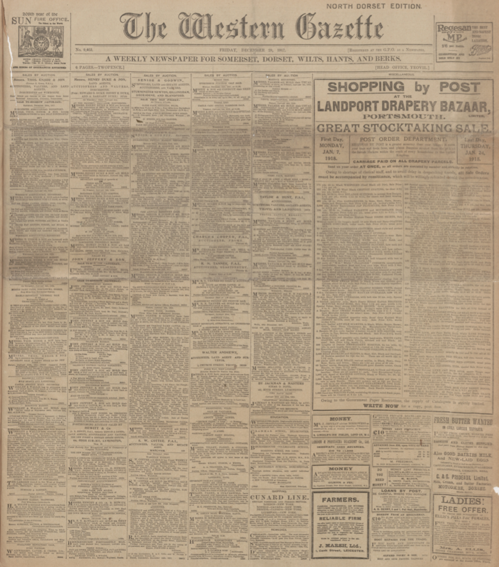 The Western Gazette
