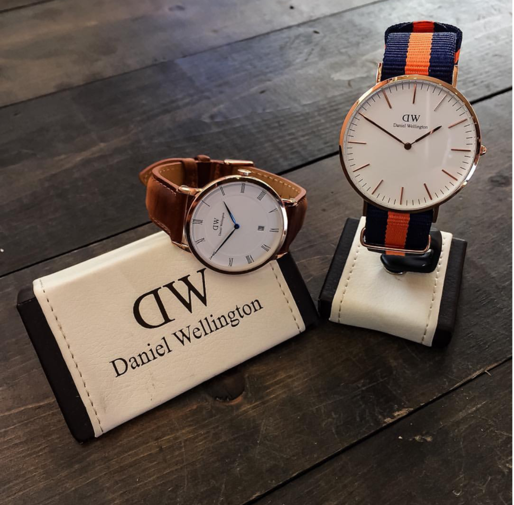 Add that little touch of pizazz with one of these timeless classic watches by Daniel Wellington.