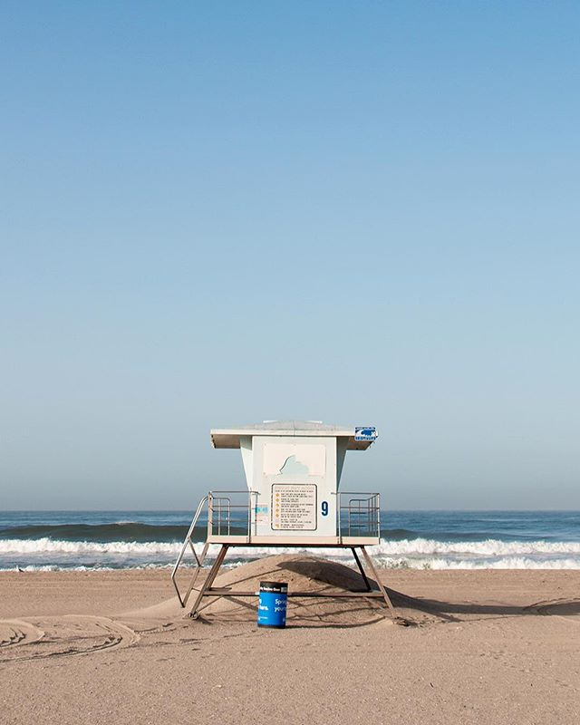 Find us just across PCH from lifeguard towers 5, 7, and 9. #LOT579