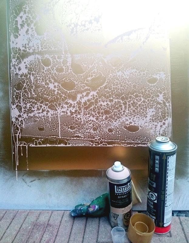 Spray-printing